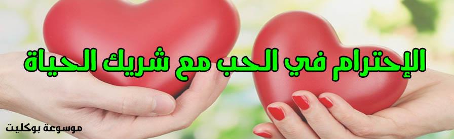 الاحترام في الحب ومعايير إختيار شريك الحياة