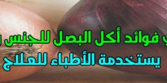 فوائد البصل للجسم والبشرة والجلد سوف تتناوله يومياً