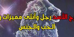 صفات برج الأسد رجل وأنثى مميزات والعيوب الحب والجنس