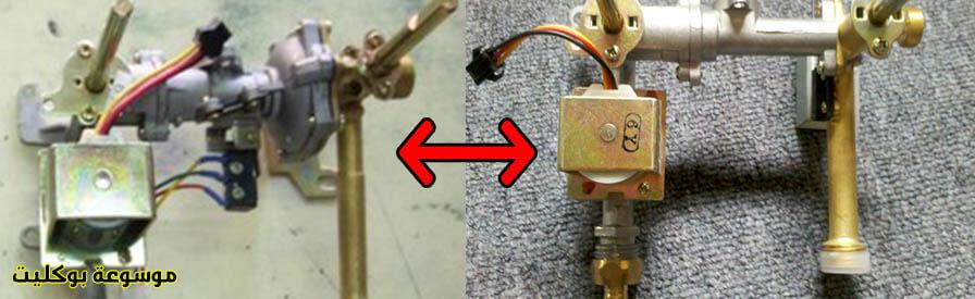 عدة ضغط الغاز السخان المنخفض بحساس المغناطيس