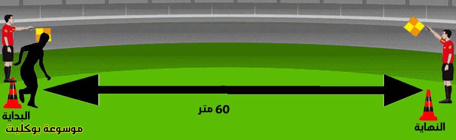 إختبار العدو 60 متر