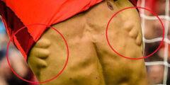 تمارينات العضلات المنشارية الأمامية نحت وابراز